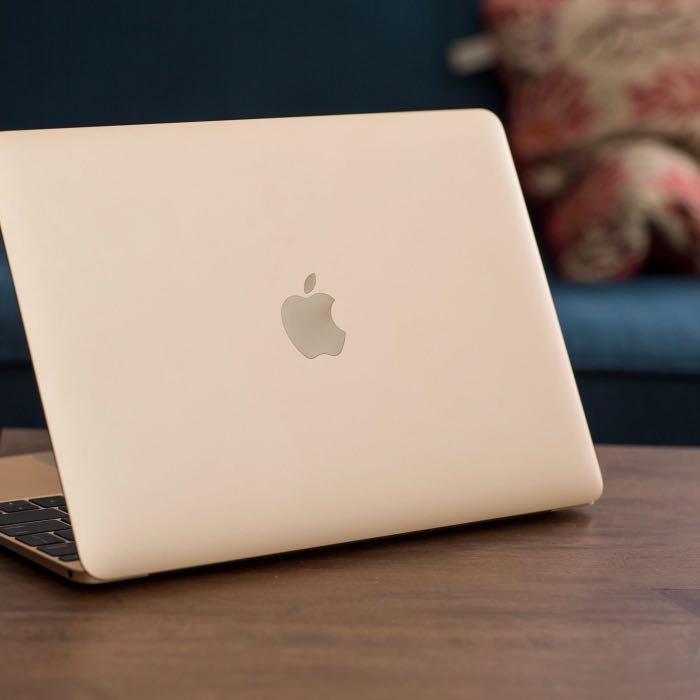 APPLE 金 MacBook 12 M3 256G RETINA 約近全新 電池僅45次 刷卡分期零利率