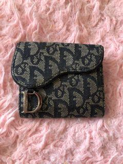 Authentic Dior saddle wallet