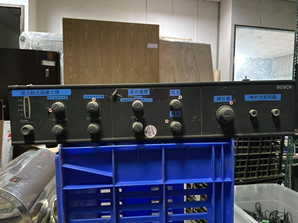 【尚典中古家具】BOSCH博世 PLENA LBB 1914/10 混音功率擴大機 中古濾波器 二手擴大機