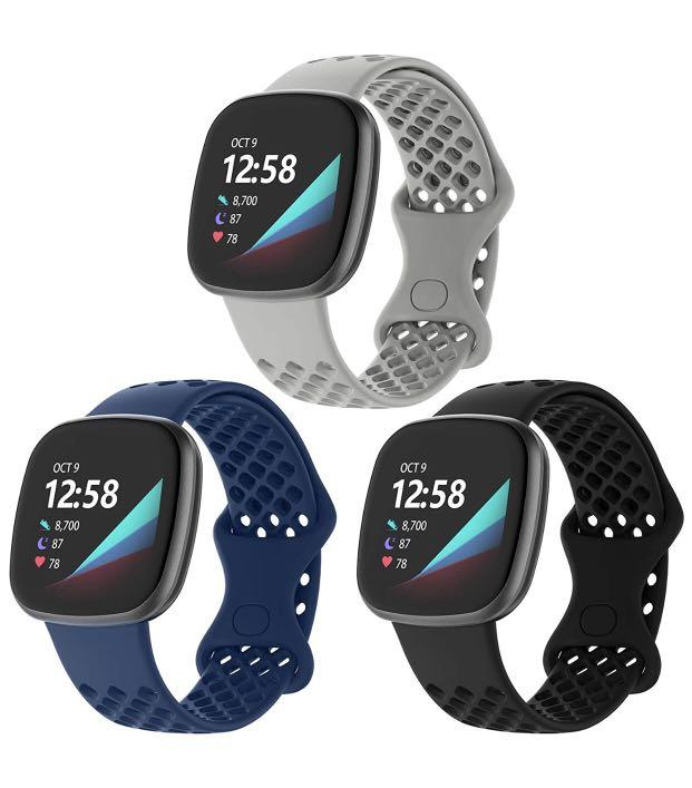 Brand new 3 Pack Band Compatible with Fitbit Sense Bands