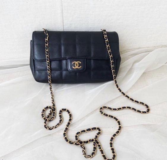 Chanel冰格mini款鏈條包 (降價)