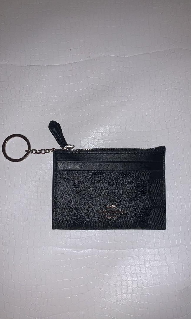 Coach key pouch