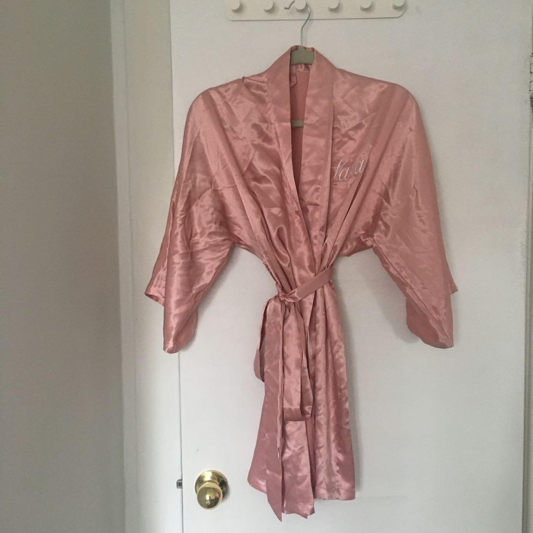 Customed Silk Robe for a Sarah