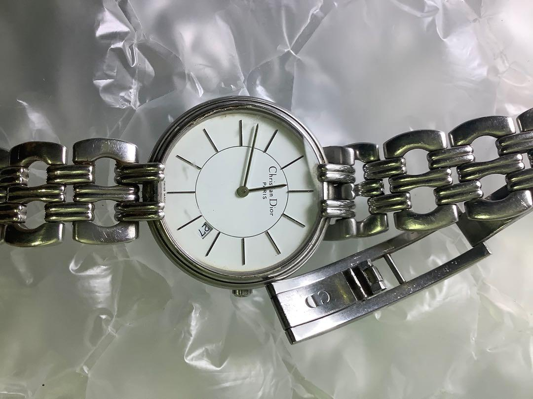 Dior男錶 錶鍊壞了
