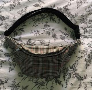 Forever21 Plaid Fanny Pack