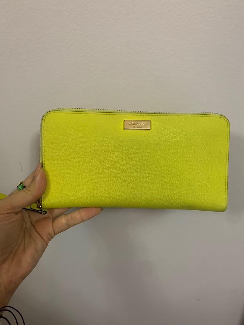 Kate Spade Wallet - Yellow