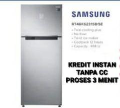 Kulkas 2 Pintu Samsung Bisa Kredit Tanpa Kartu Kredit