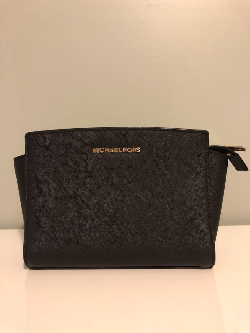 Michael Kors medium Selma saffiano crossbody