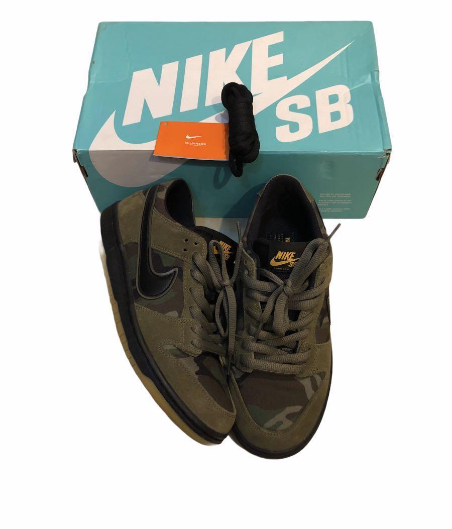 Nike sb dunk camo