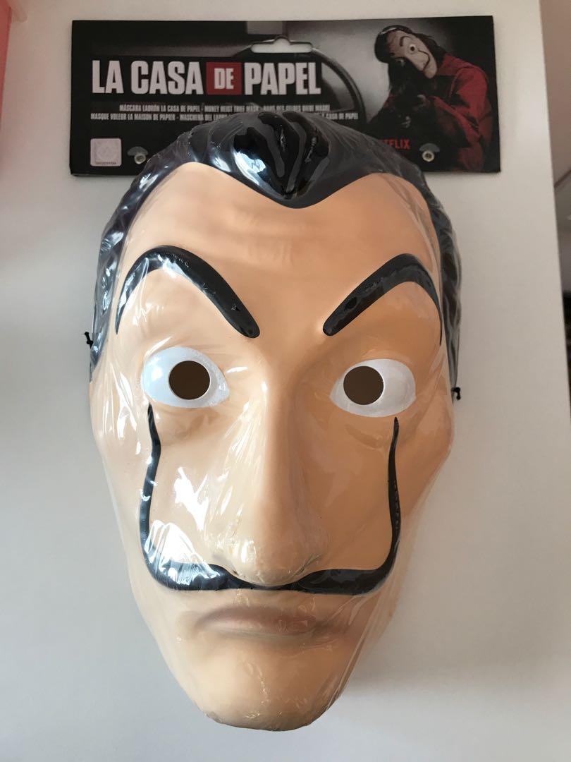 OFFICIAL Money Heist Mask - Salvador Dali