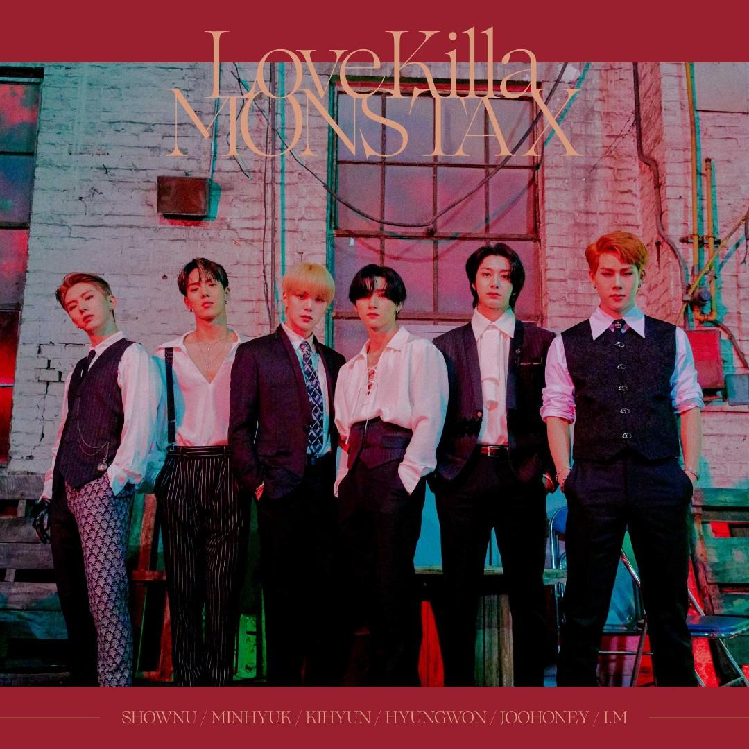 Preorder Monsta X 8th Japanese Single Love Killa K Wave On Carousell