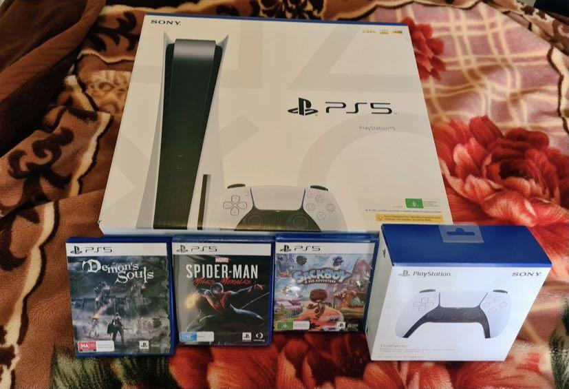 PS5 with games