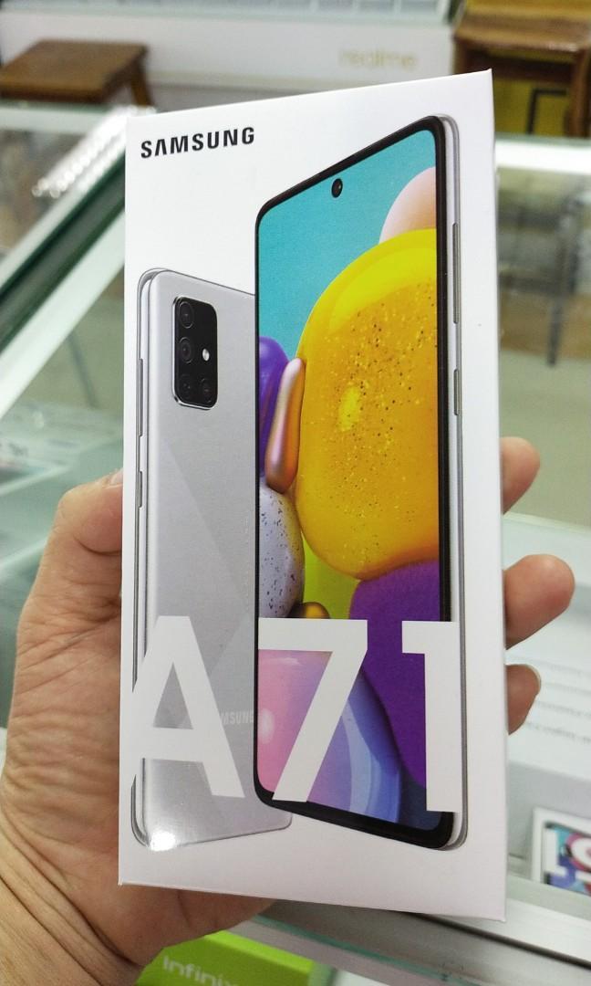 Samsung Galaxy A71 Ram 8/128 GB New Resmi