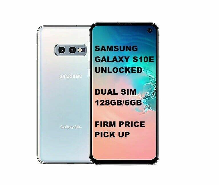 Samsung Galaxy S10e 128GB/6GB Dual SIM Prism White Unlocked S10