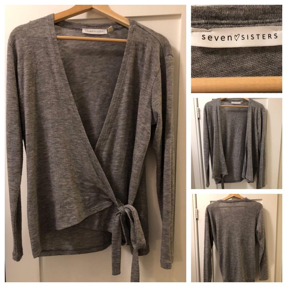 Seven Sisters Wrap Sweater