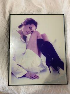 Signed Angelina Jolie picture