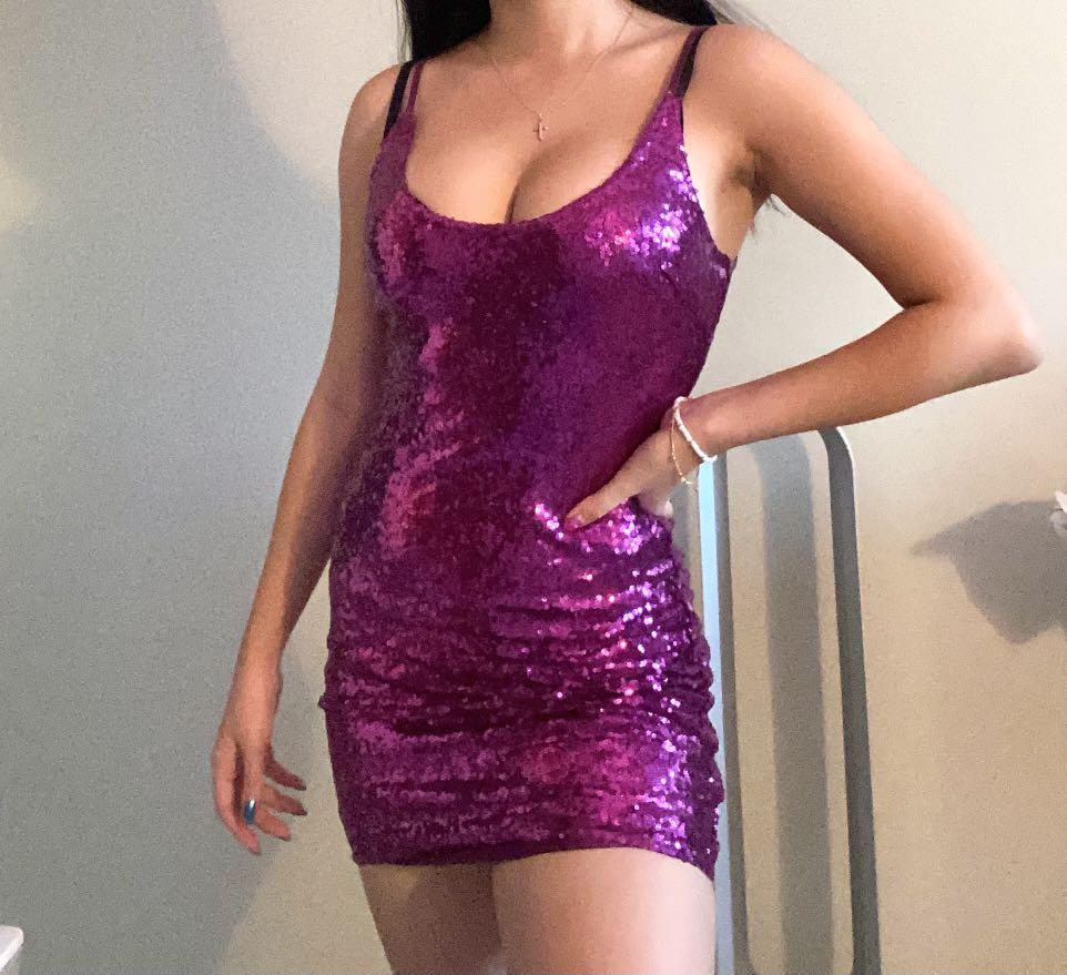 Sparkly Fashion Nova Dress