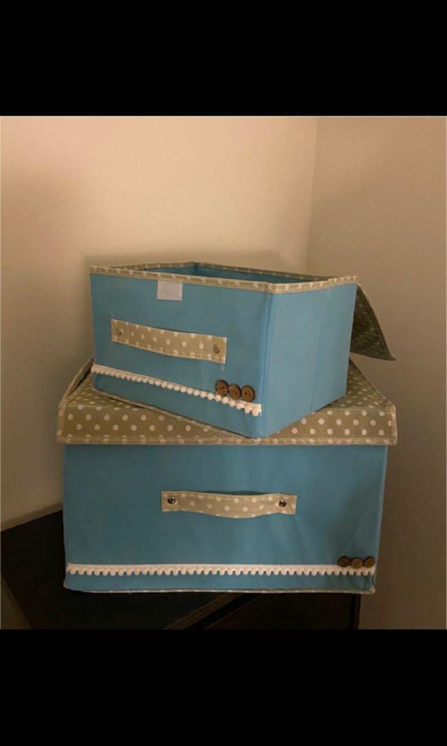 Storage box set