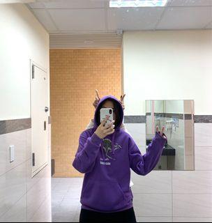 澳洲購入~🦘紫色袋鼠大學帽T