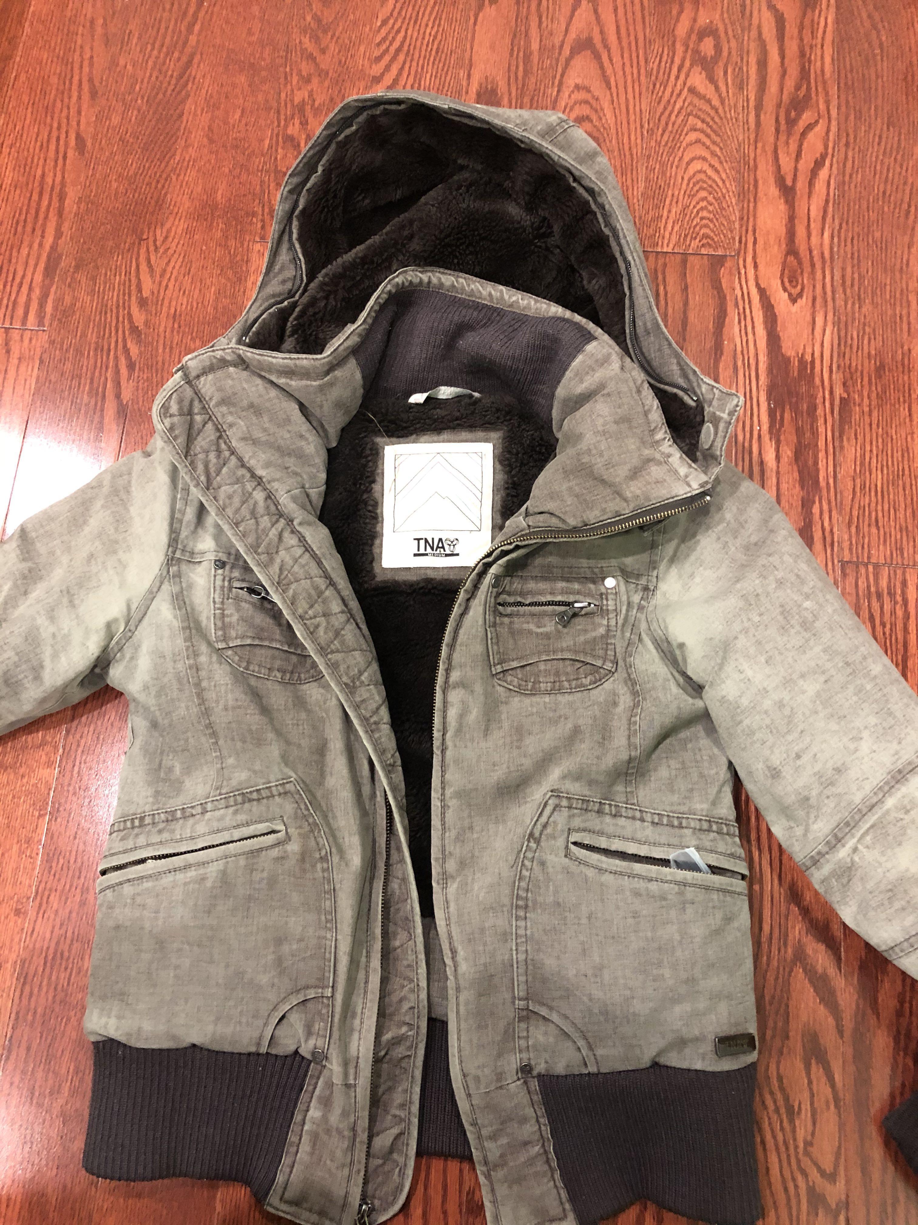 Tna brown jacket