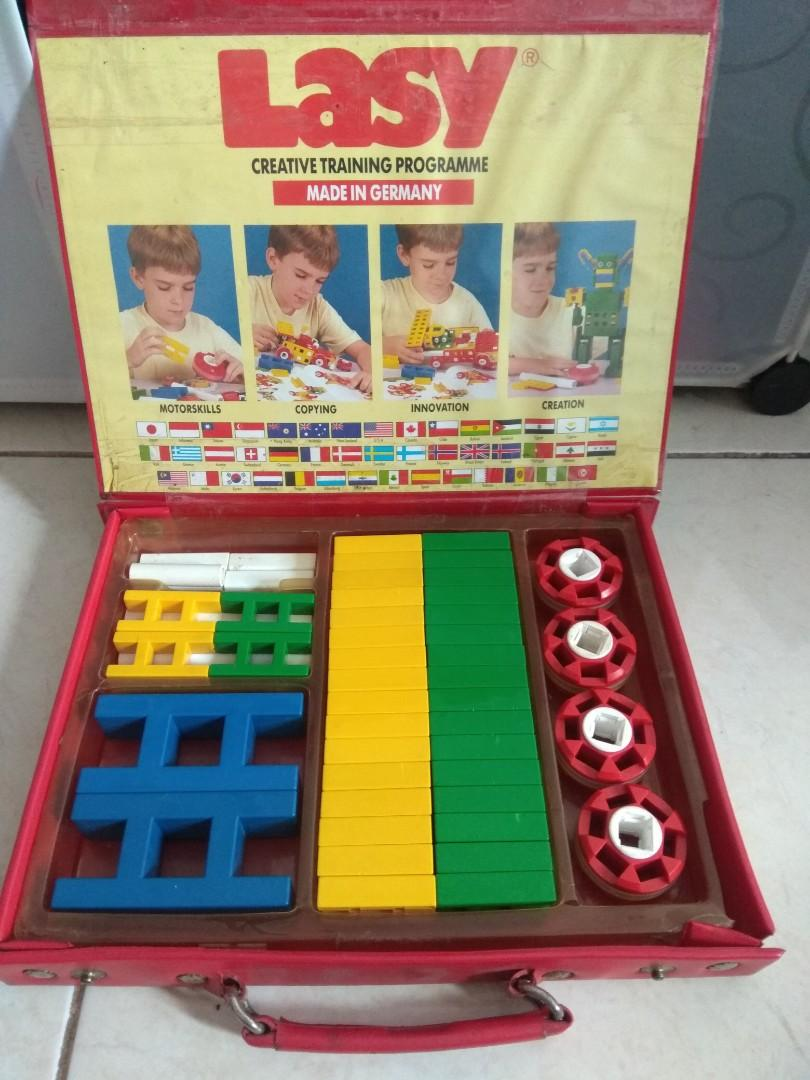 Vintage Lasy L100 Educational Toys Made in Germany Minus Condition (Bukan Lepao / Mobis)