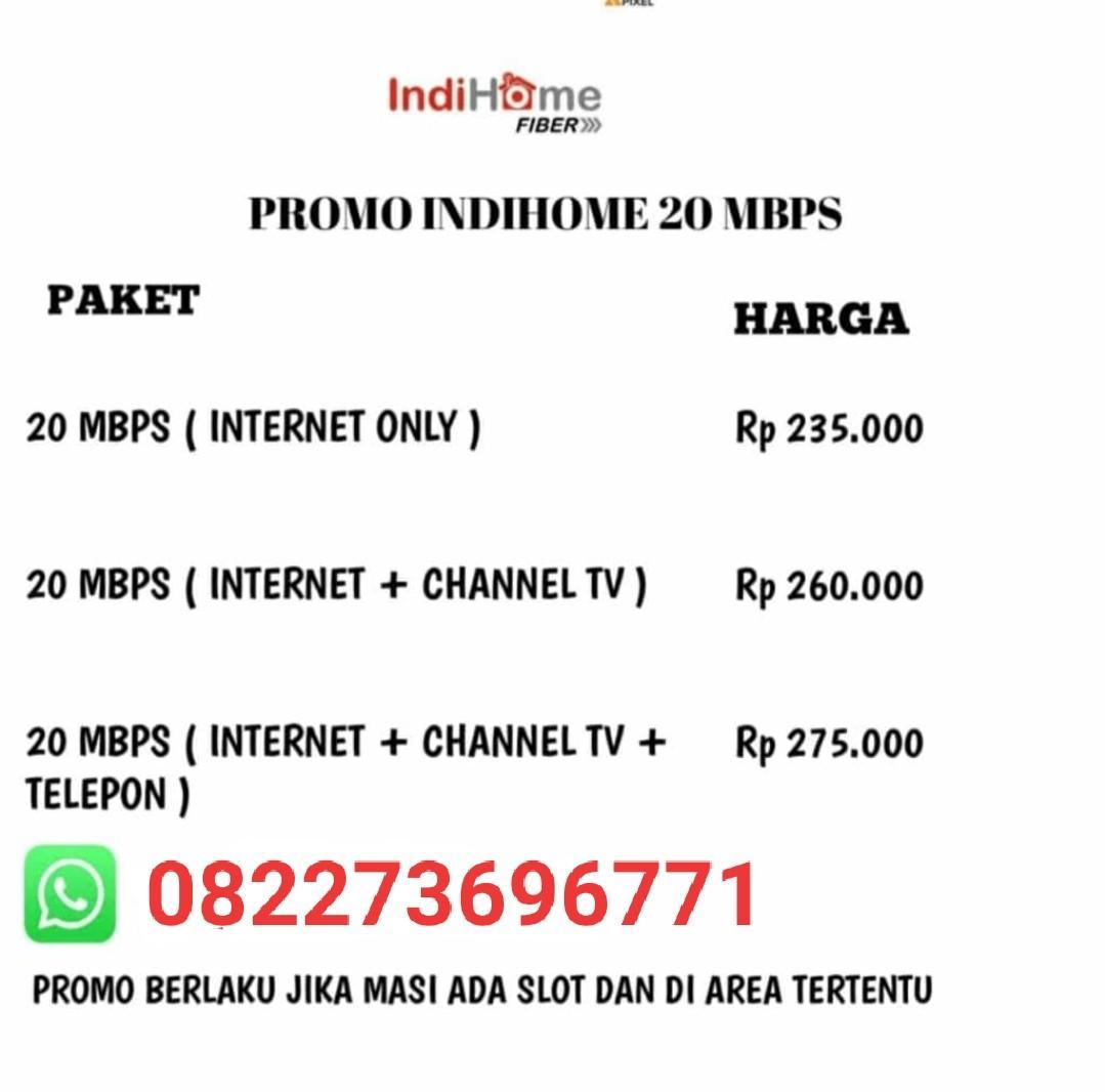 WiFi indihome Medan WiFi unlimited Promo