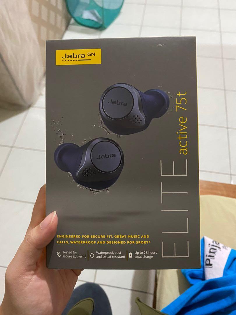 Wireless earphone Jabra elite active 75t PERFECT CONDITION