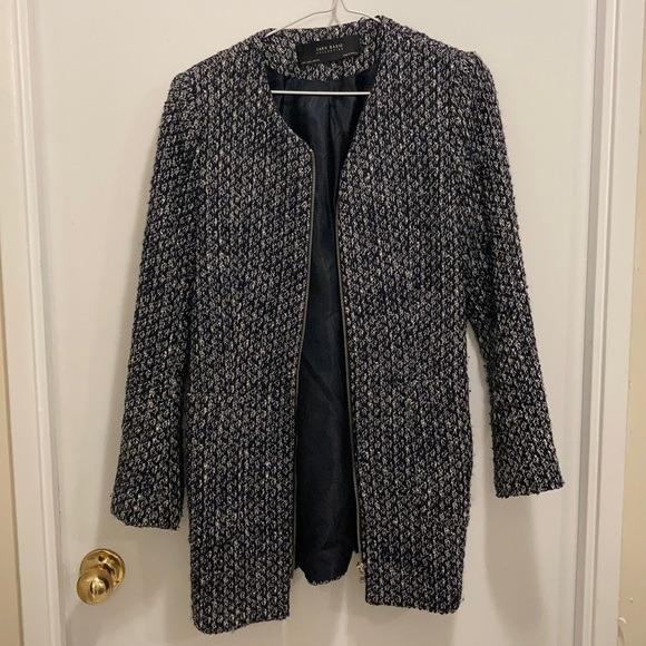 Zara Coat with Pockets Basic Collection