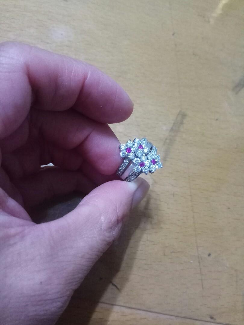 18kgp精美戒指