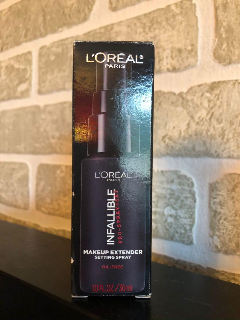 🔥3 for $15🔥 L'oreal infallible setting spray