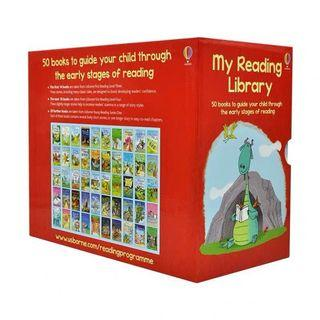 50 books My Second Reading Library (over $100 free delivery)