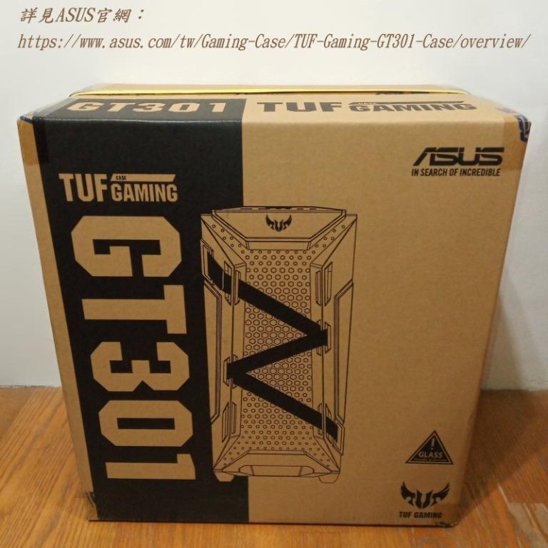 全新未拆封 2020年7月製 ASUS 華碩 TUF Gaming GT301 Case 電競 電腦機殼 強化玻璃側板