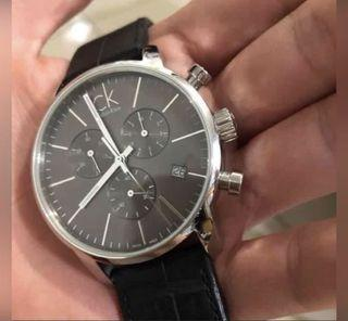 不留了 Ck三眼手錶