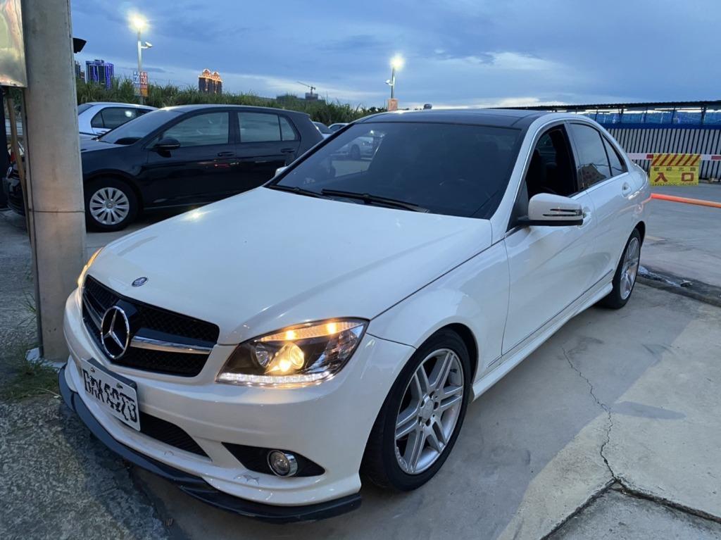 Benz 2008 C300 《只要有軍證就有優惠》#無保人#免頭款強力過件#強力貸款 #超低月付4999起
