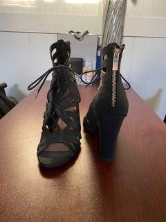 Black Heels - Size 8.5 (Spring)