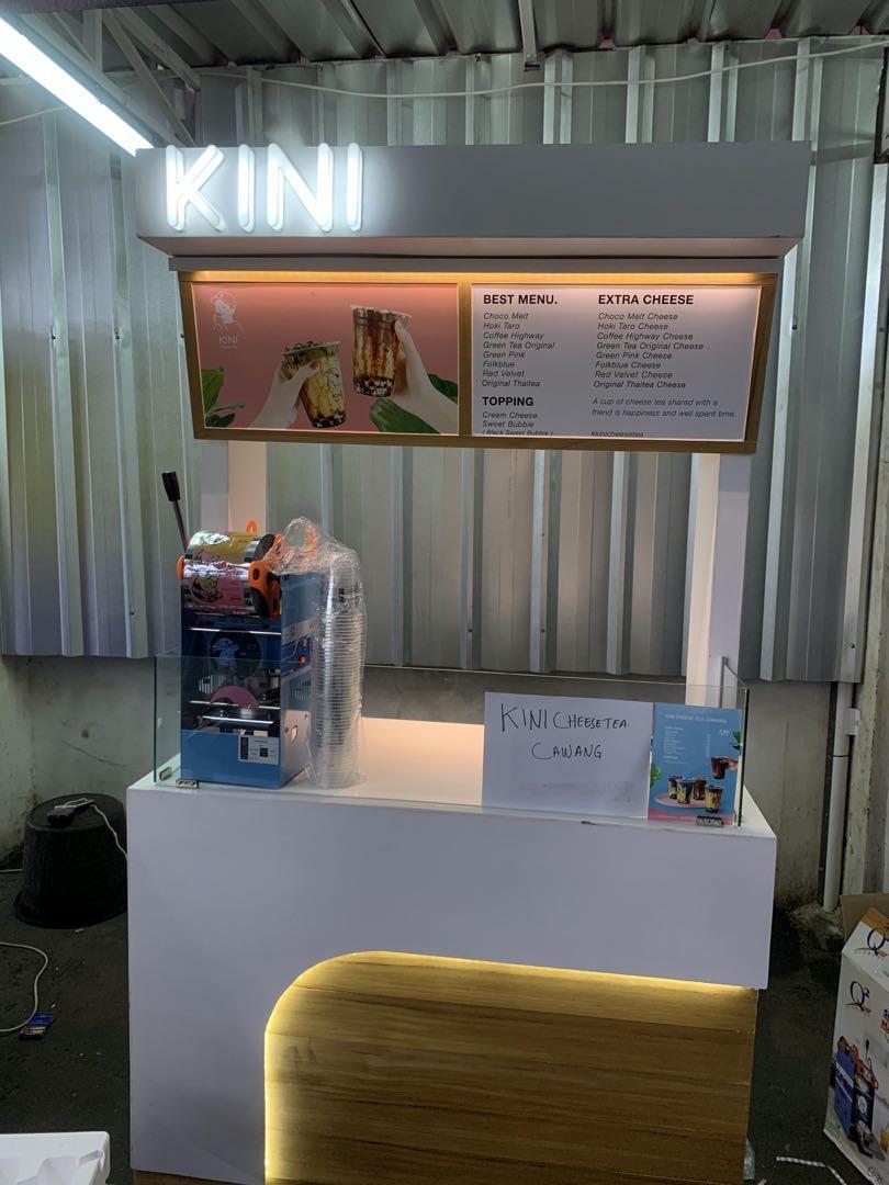Booth Kini Cheesetea