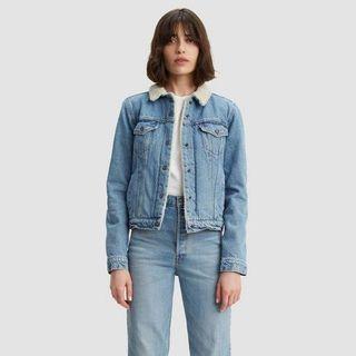 Brand New Levi's Sherpa Jean Jacket