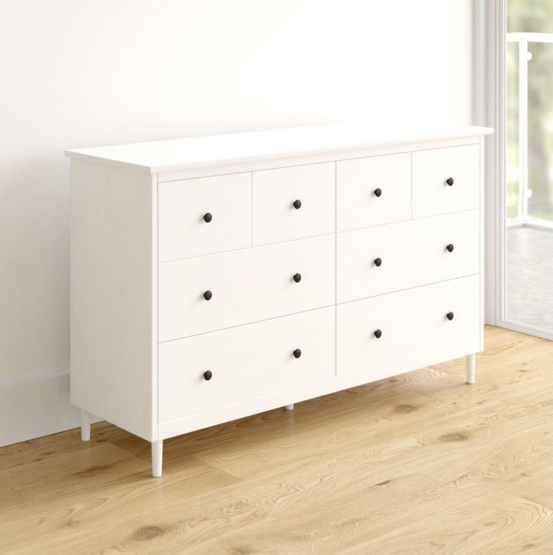 BRAND NEW SOLID WOOD DRESSER - IN THE BOX UNASSEMBLED