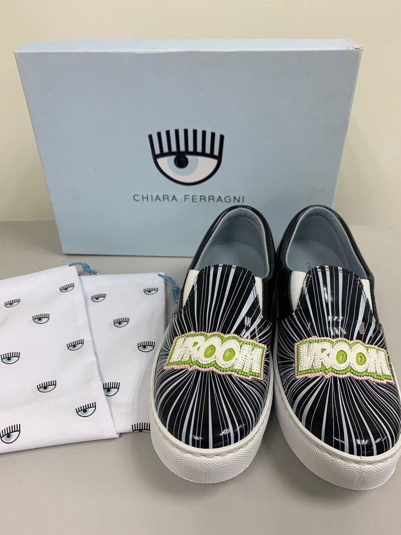 Chiara ferragni 眨眼鞋 全新 休閒鞋 真品 正品 精品 名牌 聖誕節 禮物