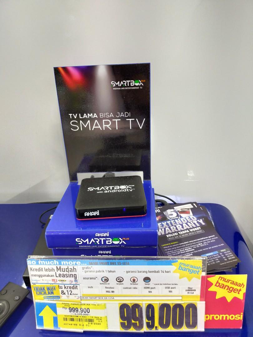 Dp 0% Kredit Smart TV Box  Akari