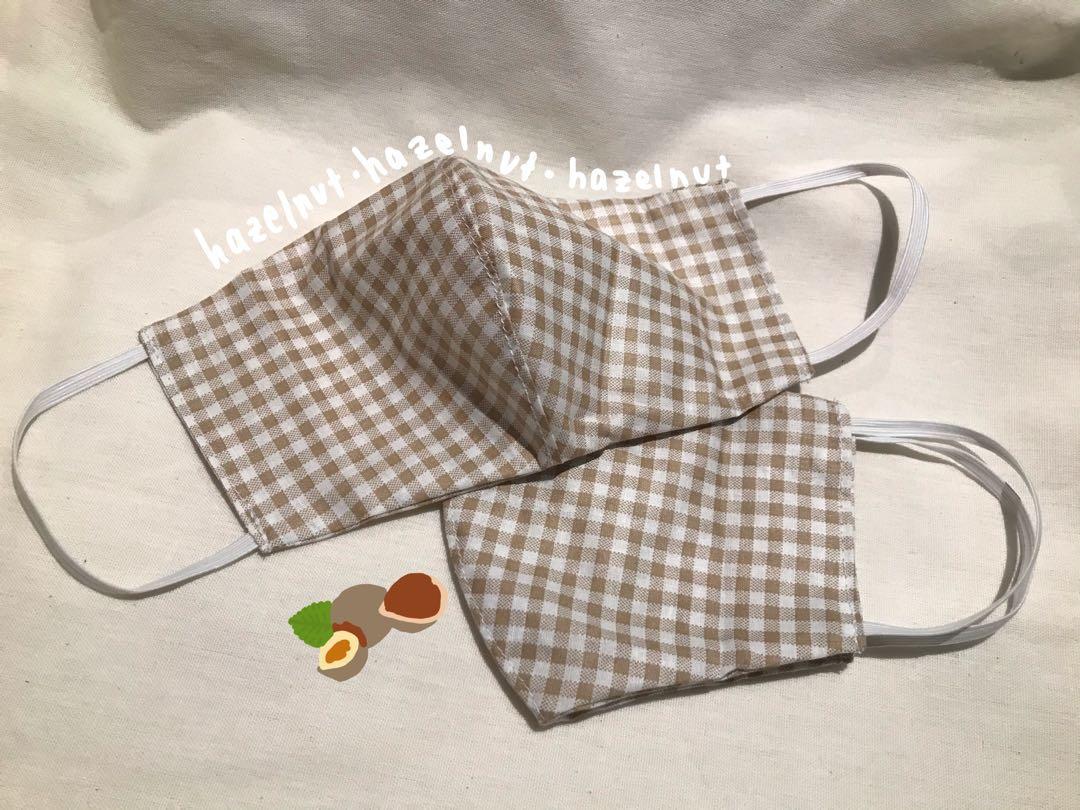 Fabric mask (hazelnut)