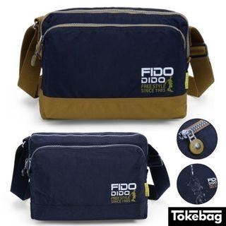 FIDO DIDO Rare Water Repellent Anti Scratch Sling Bag 26cm x 19.5cm x 12cm