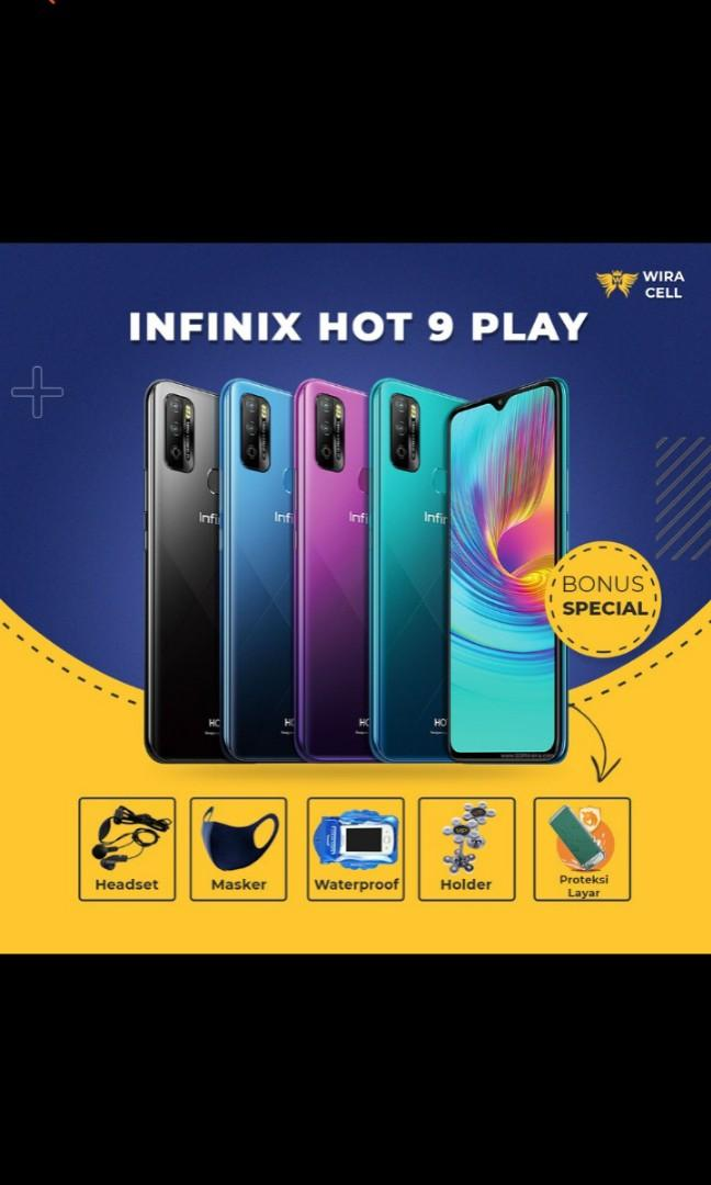 Infinix hot 9 play 3/64