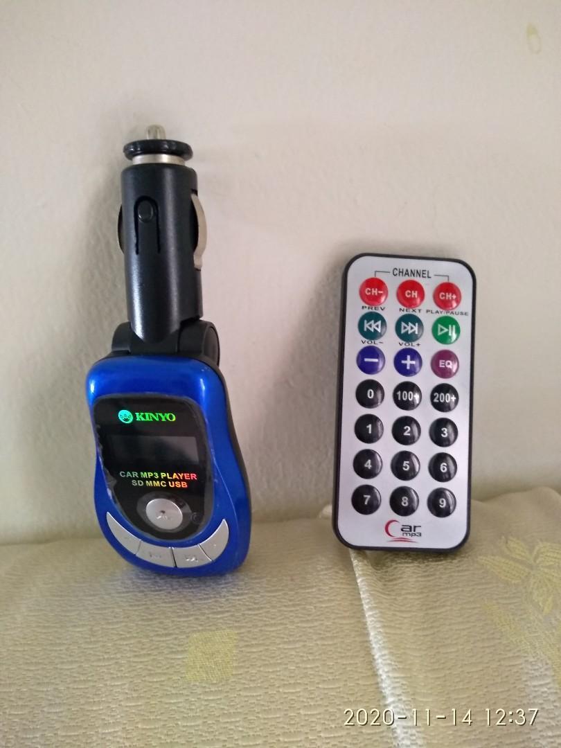 KINOY車用藍牙接收器 接受器附遙控器