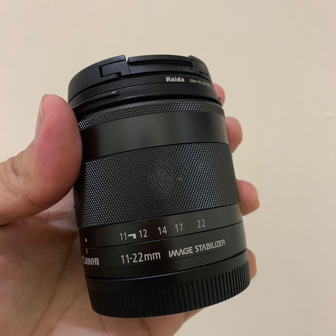 Lensa Canon efm 11-22mm f4-5,6 is stm