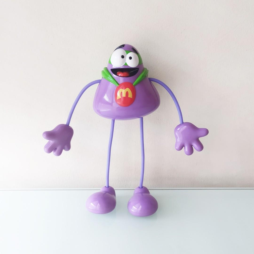 Mainan Anak Happy Meal Mcdonald Grimace