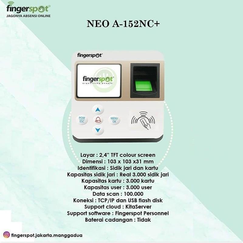 NEO A-152 NC + FINGERSPOT