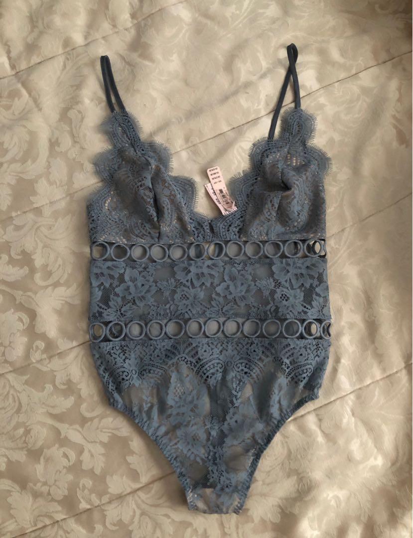 New Victoria secret lace bodysuit
