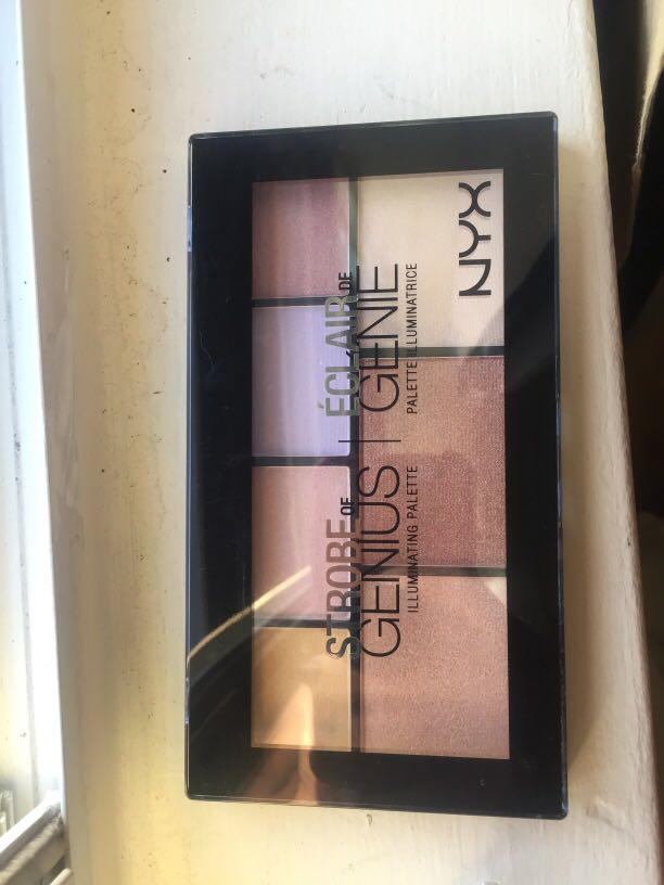 NYX illuminating palette