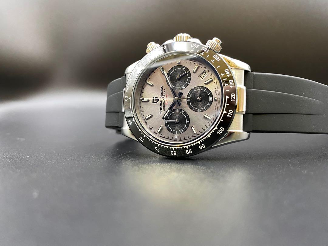 Pagani Design Chronograph Watch Pd 1664 Silver Grey Luxury Watches On Carousell